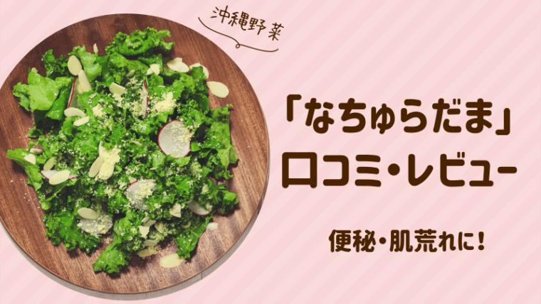 なちゅらだまの口コミ!沖縄の健康野菜のパワーを画像付きでレポート