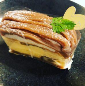 モンブランチーズケーキ